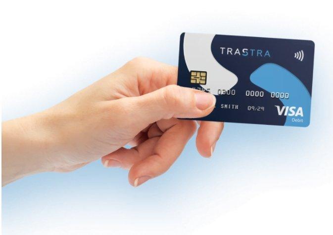 Trastra wallet creditcard